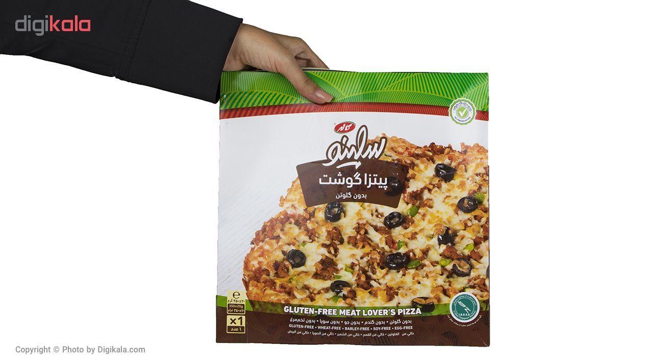 پیتزا گوشت بدون گلوتن سلینو مقدار 350 گرم main 1 5