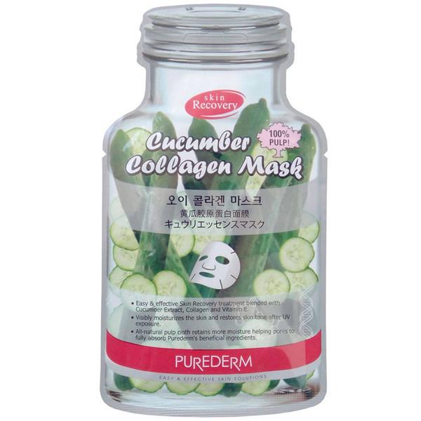 ماسک نقابی پیوردرم مدل Cucumber - یک ورق