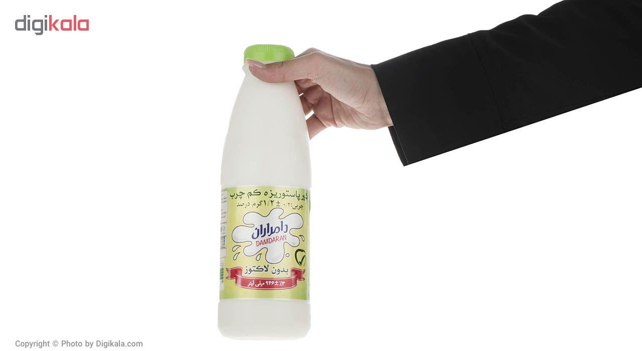 شیر پاستوریزه کم چرب دامداران حجم 946 میلی لیتر