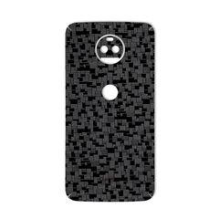 برچسب تزئینی ماهوت مدل Silicon Texture مناسب برای گوشی  Motorola G5S Plus