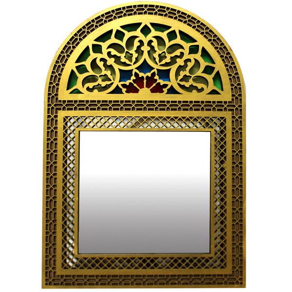 آینه دست نگار طرح پنجره سنتی کد 02-20