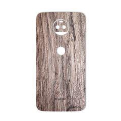 برچسب تزئینی ماهوت مدل Walnut Texture مناسب برای گوشی  Motorola G5S Plus