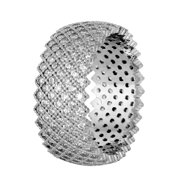 انگشتر نقره مدوکلاس کد 180173
