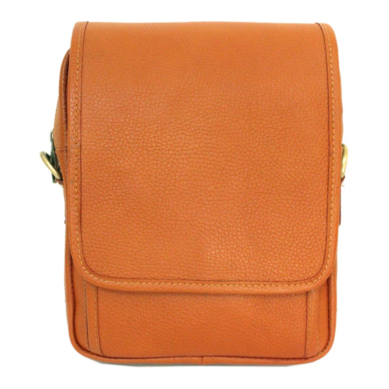 کیف دوشی چرم طبیعی چرم آرا مدل d046