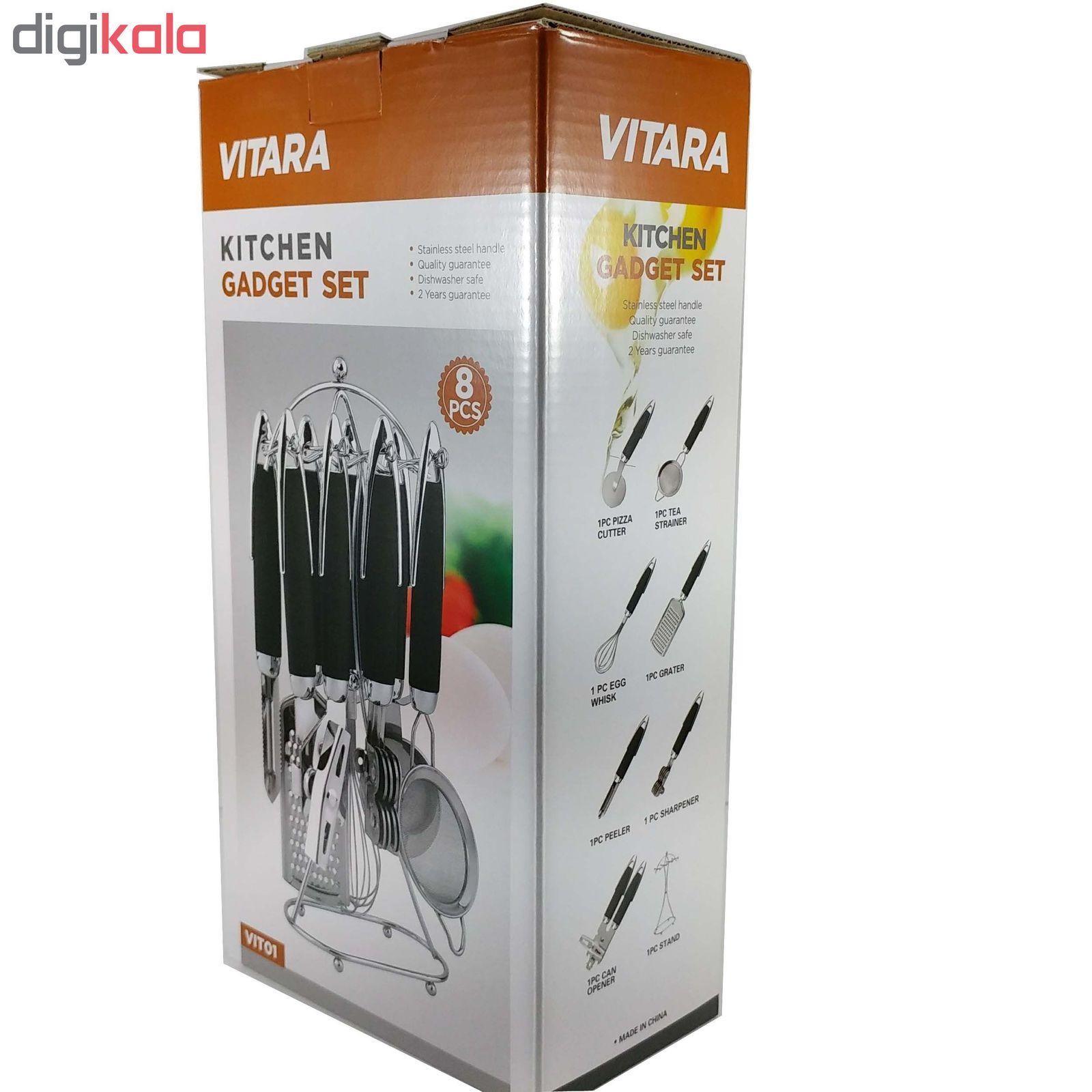 سرویس 8 پارچه ابزار آشپزخانه وی تارا مدل VIT01 main 1 3
