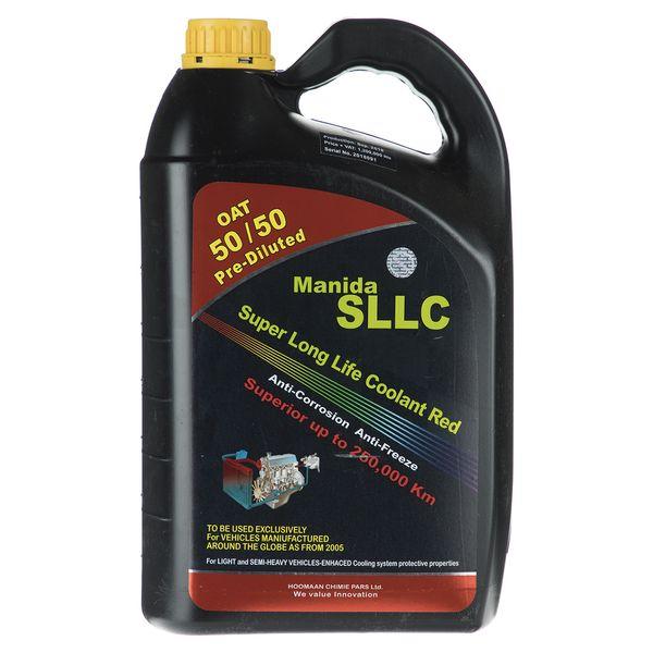 ضدیخ خودرو مانیدا مدل SLLC حجم 3.75 لیتر