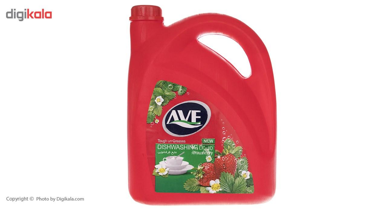 مایع ظرفشویی اوه مدل Strawberry مقدار 3750گرم