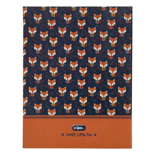دفتر کلاسوری کلیپس مدل 00353 Lovely Little Fox