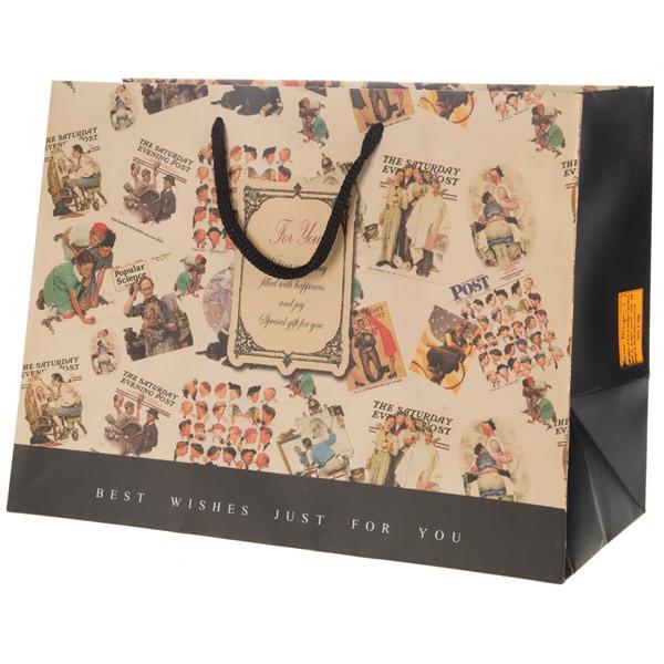 پاکت هدیه افقی جیحون مدل For You طرح عکس های قدیمی سایز بزرگ