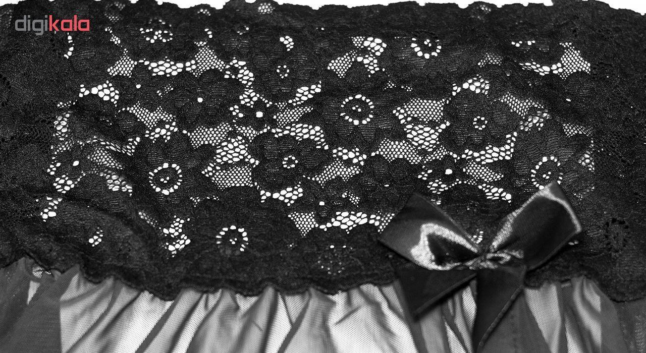 لباس خواب زنانه مدل Black-Prances main 1 4