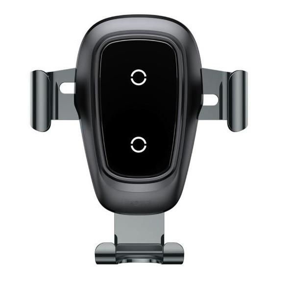 پایه نگهدارنده گوشی موبایل باسئوس مدل Metal wireless charger Gravity car Mount