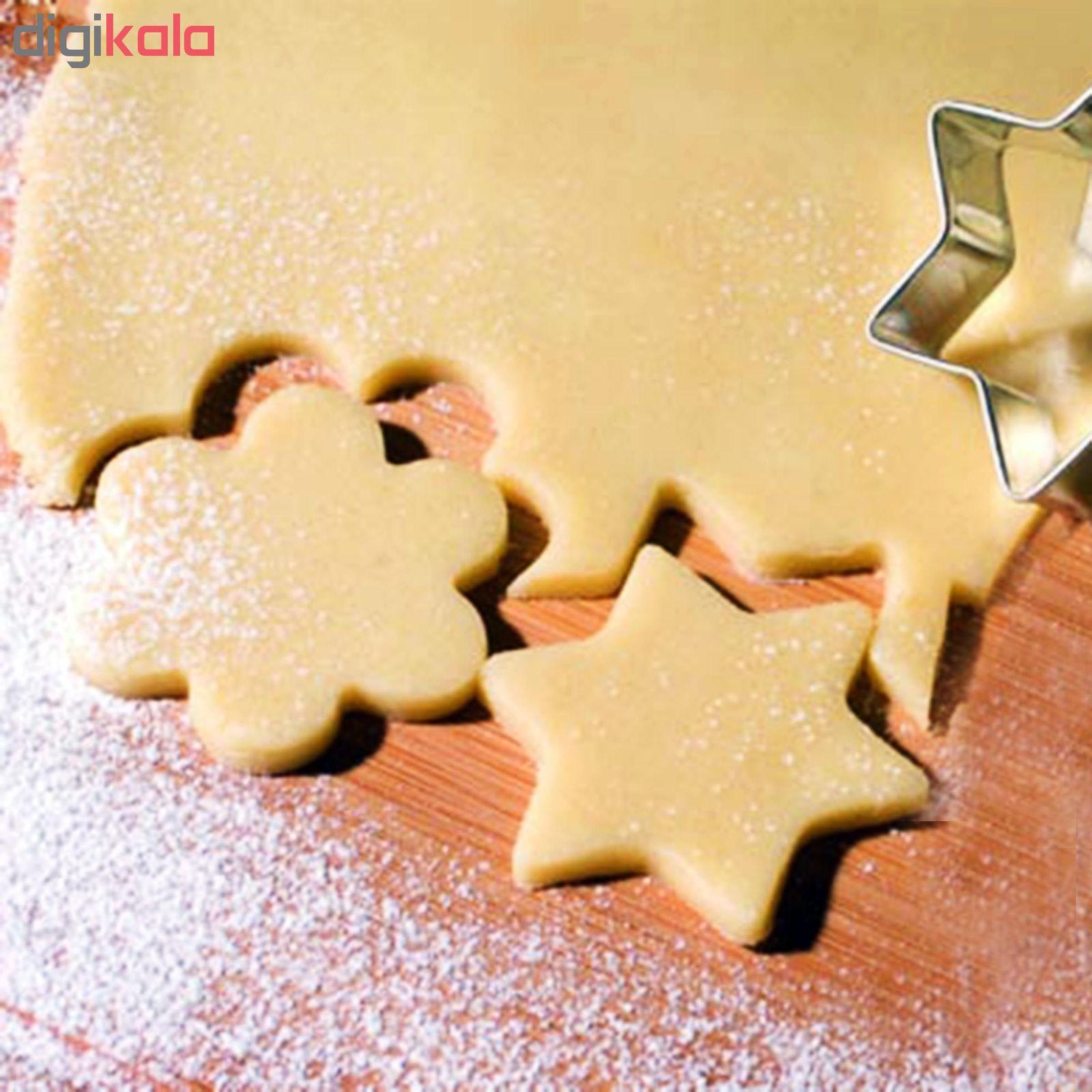 کاتر شیرینی پزی مدل Cookie Cutter بسته 12 عددی main 1 11