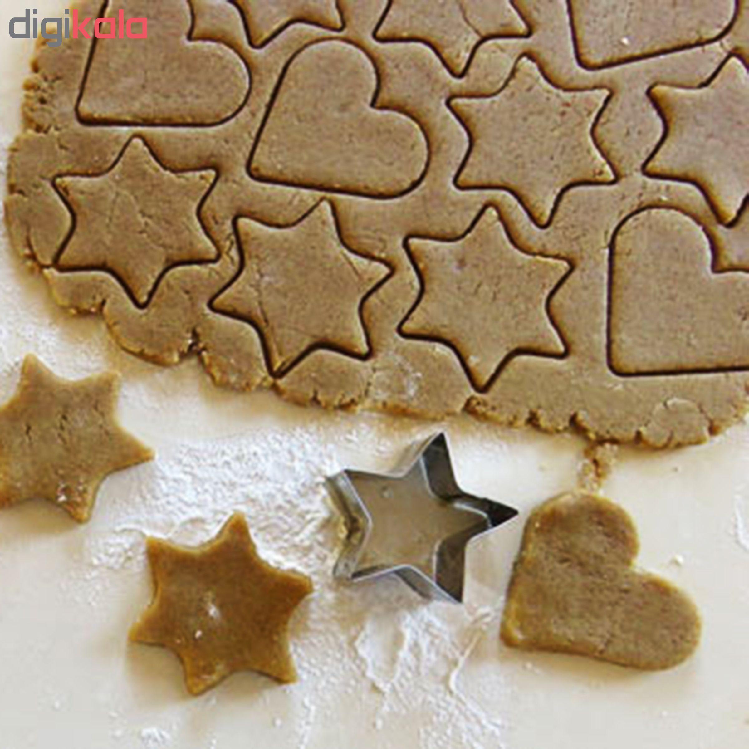 کاتر شیرینی پزی مدل Cookie Cutter بسته 12 عددی main 1 12