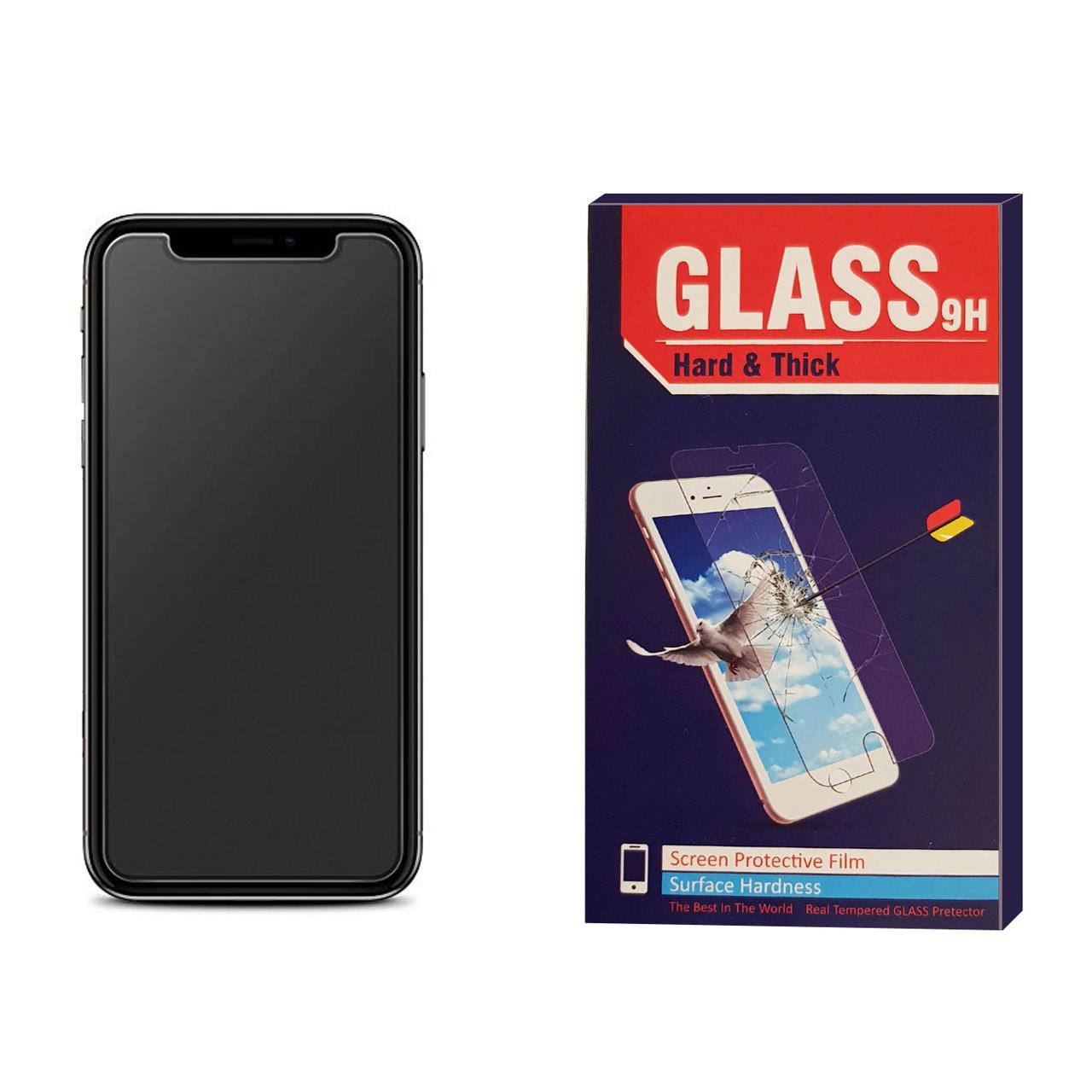 محافظ صفحه نمایش مات Hard and thick مدل F006 مناسب برای گوشی موبایل آیفون Iphone X