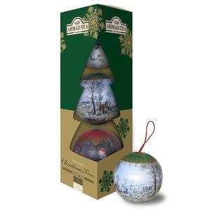 بسته 3 عددی چای سیاه توپی احمد مدل Tea Set Christmas Tree