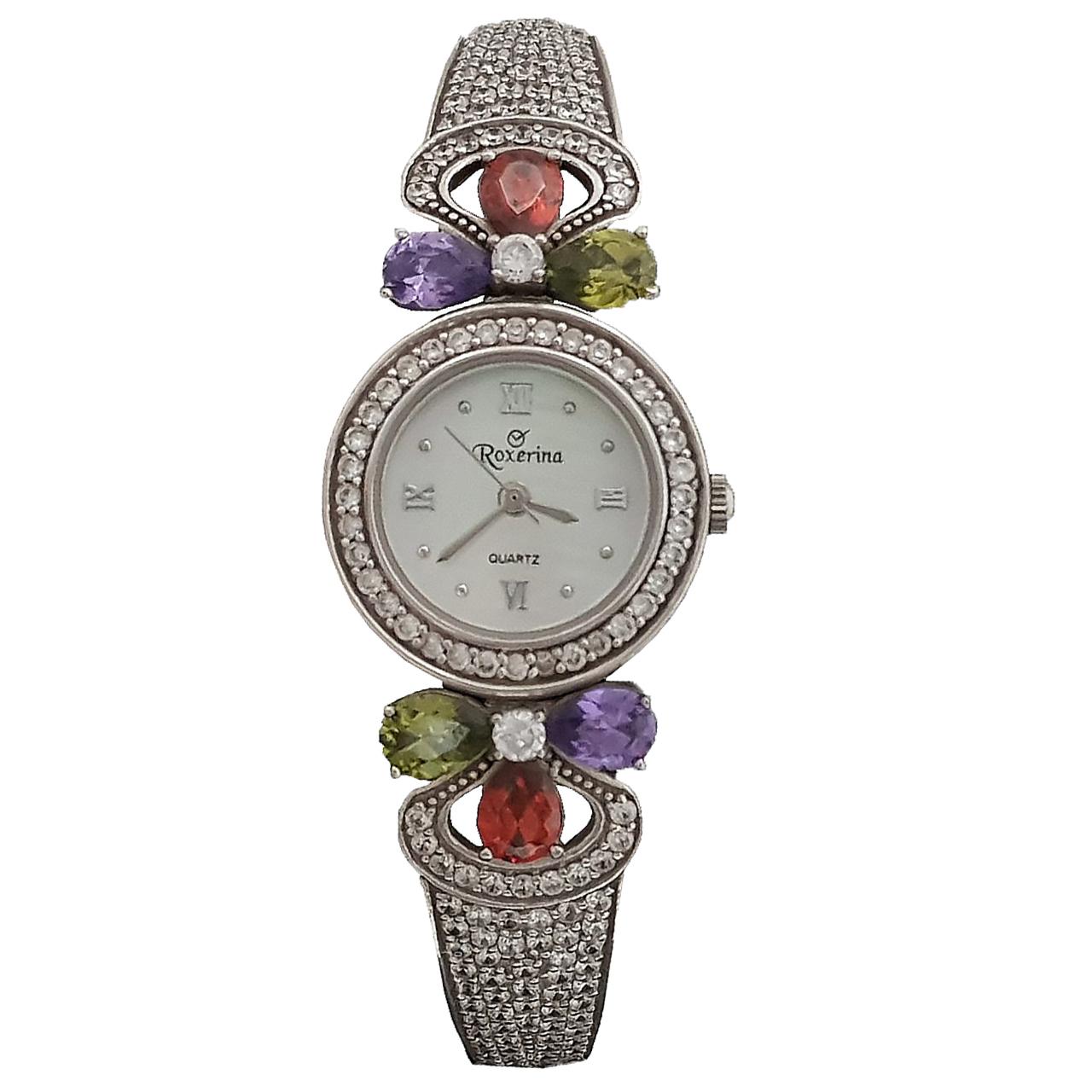 ساعت مچی عقربه ای زنانه روکسرینا مدل FG89