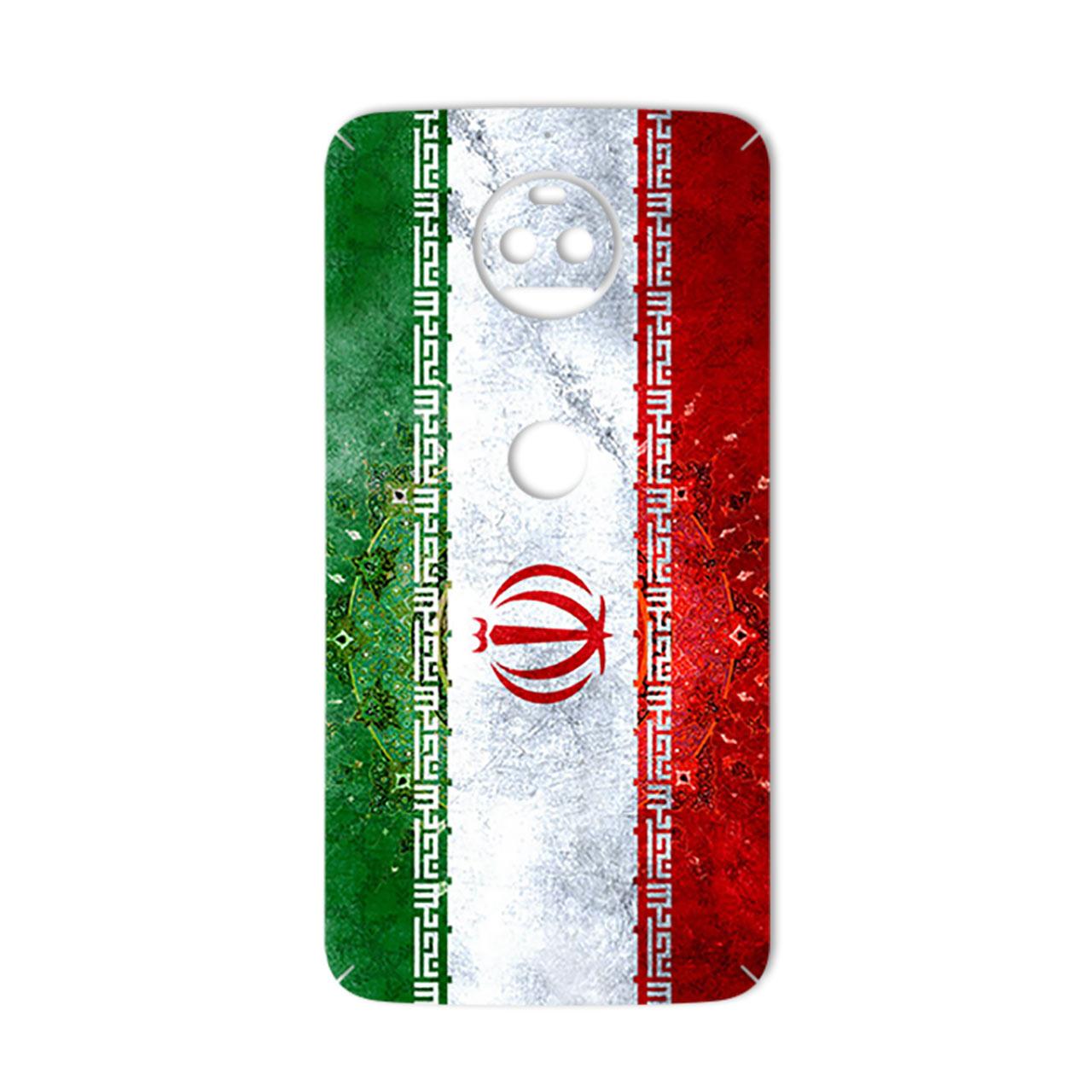 برچسب تزئینی ماهوت مدل IRAN-flag Design مناسب برای گوشی  Motorola G5S Plus