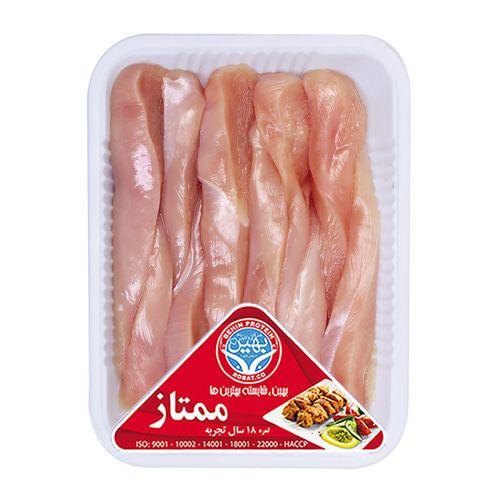 چیکن استراگانف مرغ بهین پروتئین مقدار 0.5 کیلو گرم