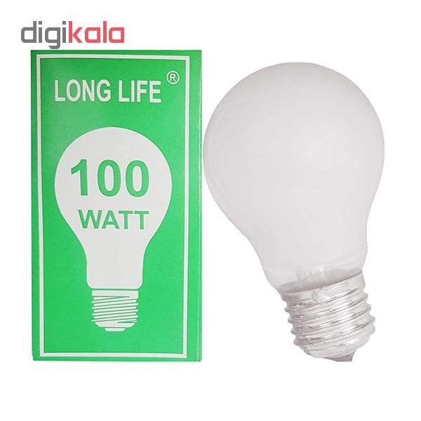 لامپ 100 واتی مدل E27 main 1 3