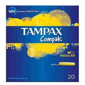 تامپون تامپکس مدل Compak Regular بسته 20 عددی