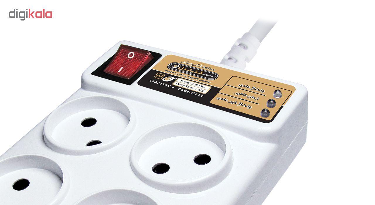 خرید اینترنتی محافظ ولتاژ الکترونیکی نمودار کنترل مدل M113 مناسب کامپیوتر و لوازم صوتی تصویری اورجینال