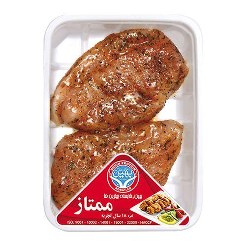 استیک مرغ اورینتال بهین پروتئین مقدار 0.4 کیلوگرم