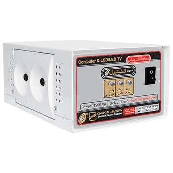 محافظ ولتاژ الکترونیکی نمودار کنترل مدل M204 مناسب کامپیوتر و لوازم صوتی تصویری