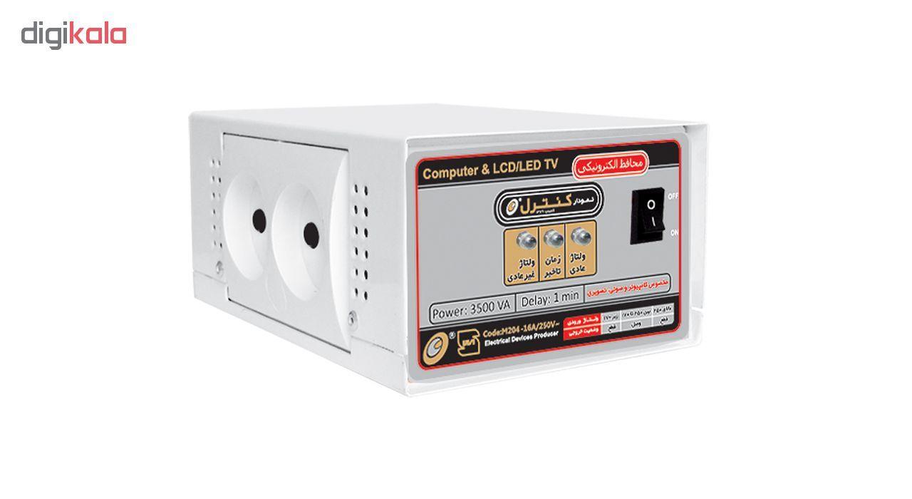 محافظ ولتاژ الکترونیکی نمودار کنترل مدل M204 مناسب کامپیوتر و لوازم صوتی تصویری main 1 1