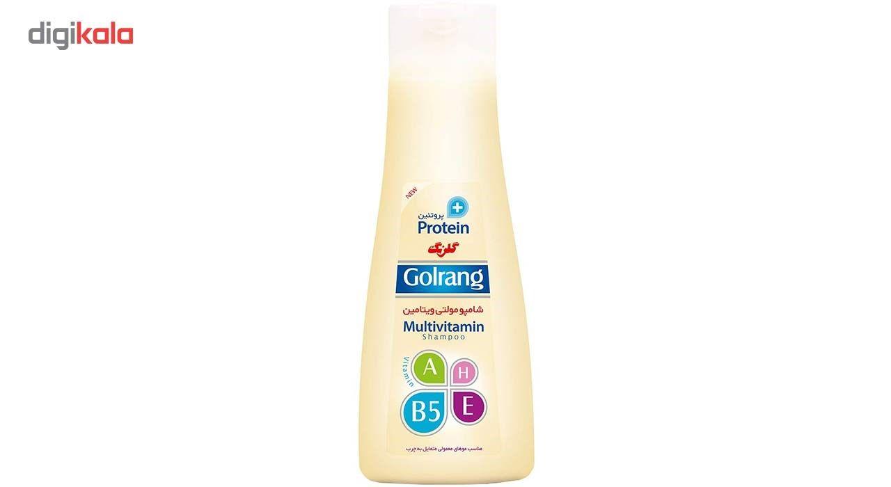 شامپو موی گلرنگ سری Plus Protein مدل Oily Hair مقدار 900 گرم main 1 1