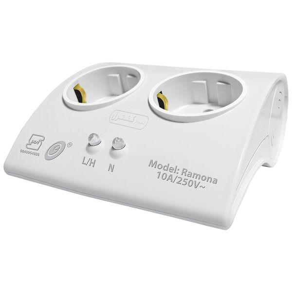 محافظ ولتاژ الکترونیکی نمودار کنترل مدل رامونا M115A مناسب یخچال و فریزر
