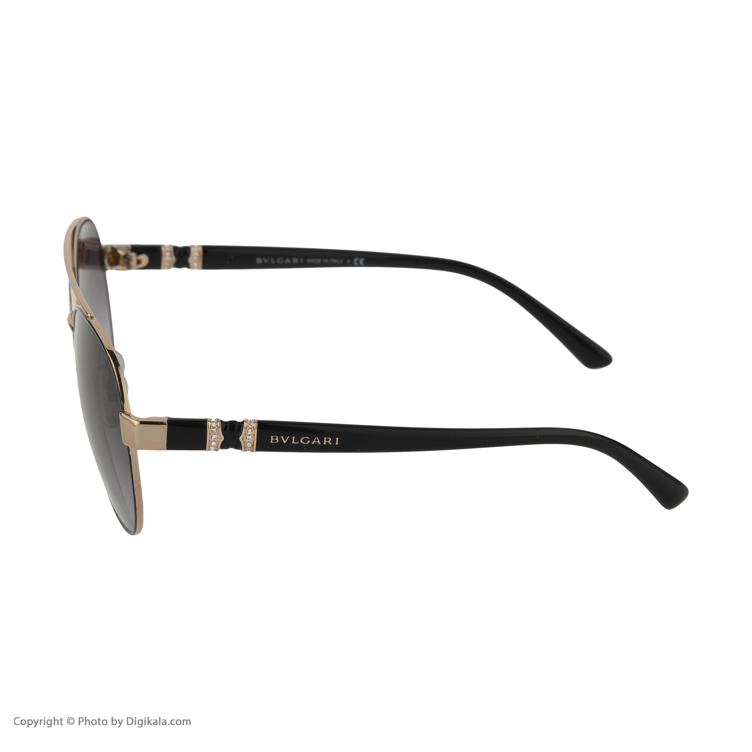 عینک آفتابی زنانه بولگاری مدل BV6085B 20238G -  - 6
