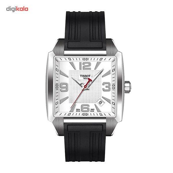 ساعت مچی عقربه ای مردانه تیسوت مدل Quadrato T005.510.17.277.00 -  - 2