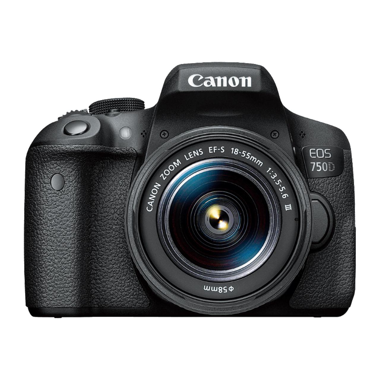 دوربین دیجیتال کانن مدل EOS 750D به همراه لنز 18-55 میلی متر DC III