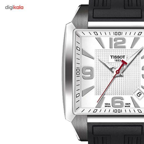 ساعت مچی عقربه ای مردانه تیسوت مدل Quadrato T005.510.17.277.00 -  - 1