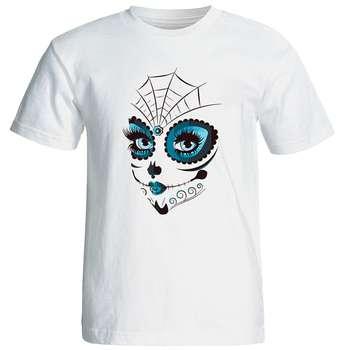 تی شرت زنانه طرح دختر کد 17054 |