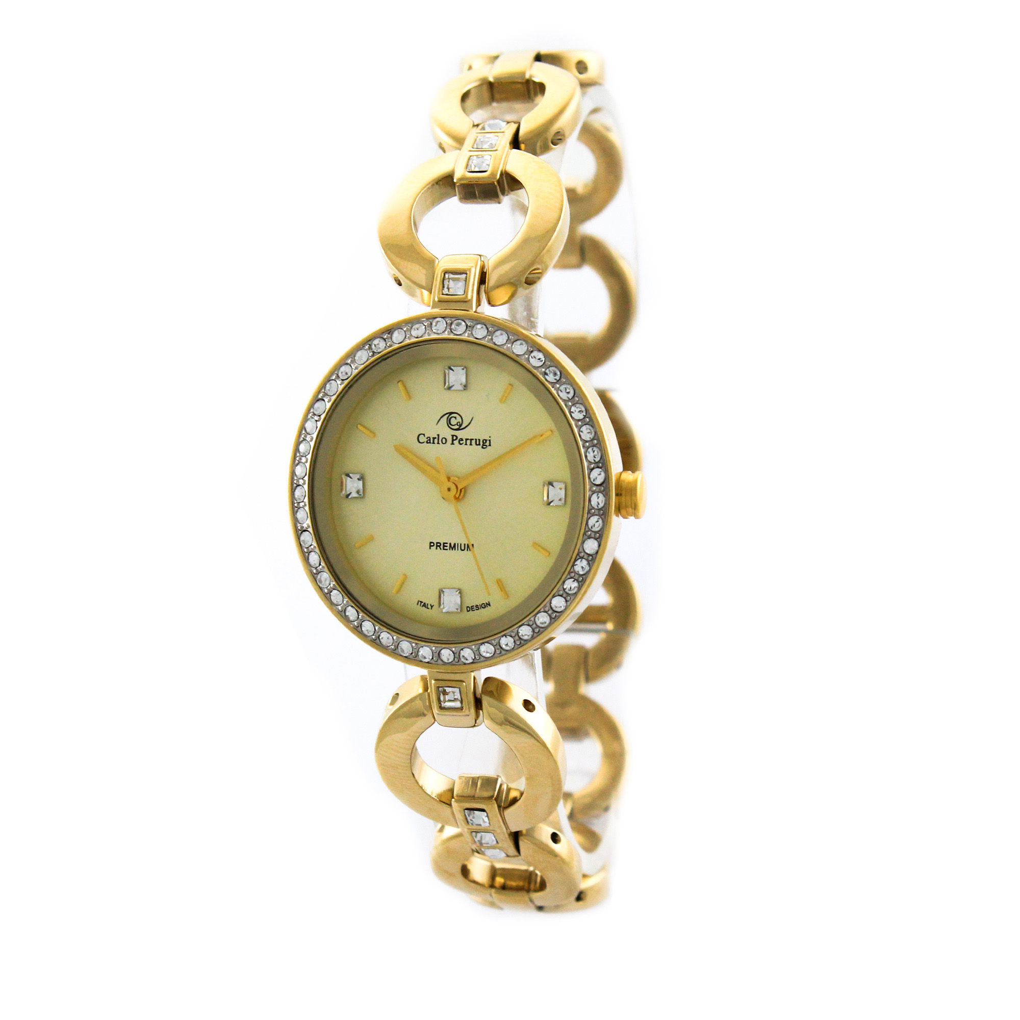 ساعت مچی عقربه ای زنانه کارلو پروجی مدل SL002010-1
