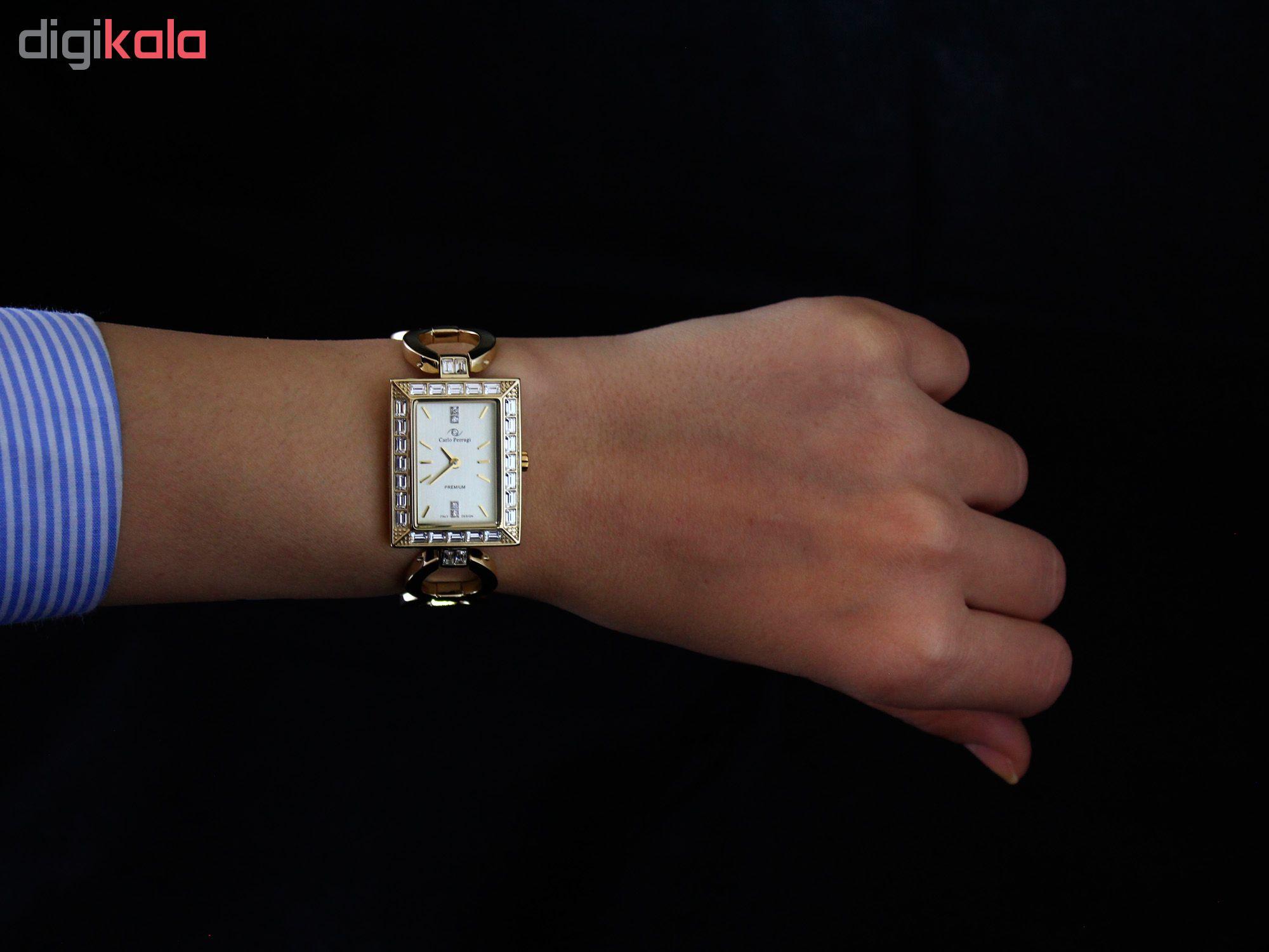 ساعت مچی عقربه ای زنانه کارلو پروجی مدل SL002008-2              ارزان