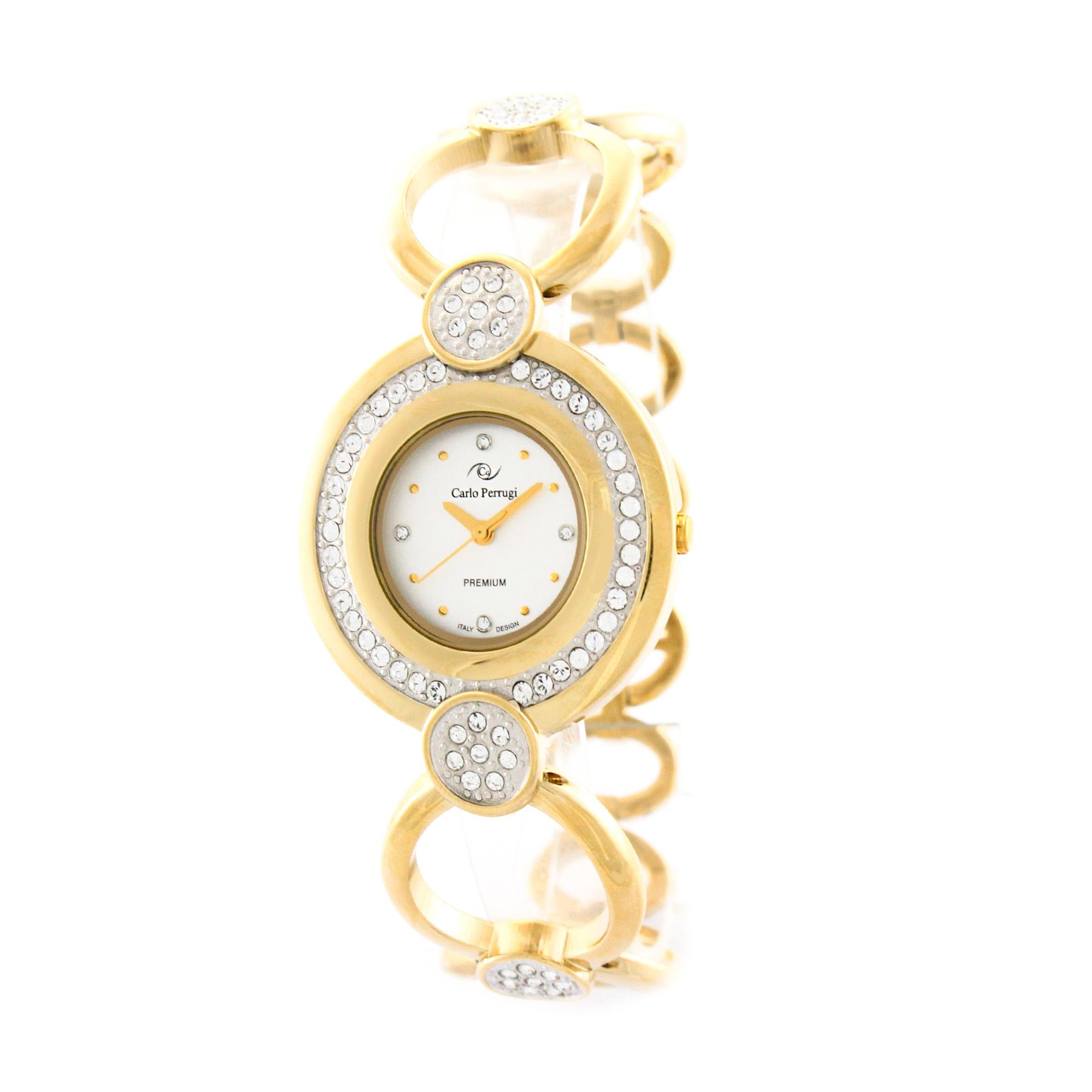 خرید ساعت مچی عقربه ای زنانه کارلو پروجی مدل SL002006-2