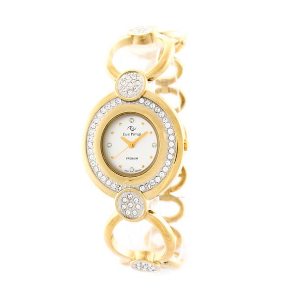 ساعت مچی عقربه ای زنانه کارلو پروجی مدل SL002006-2
