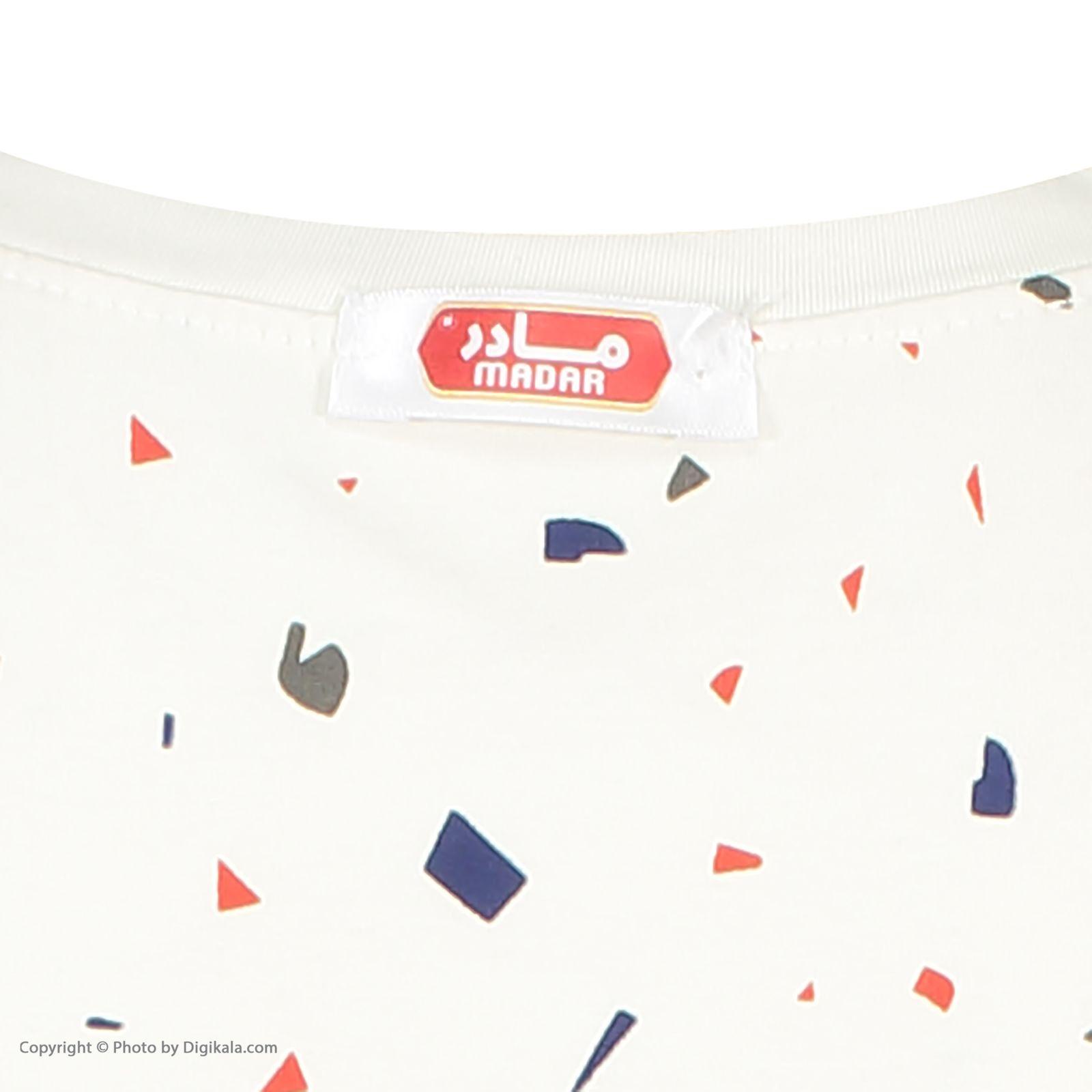 ست تی شرت و شلوارک راحتی زنانه مادر مدل 2041103-54 -  - 12