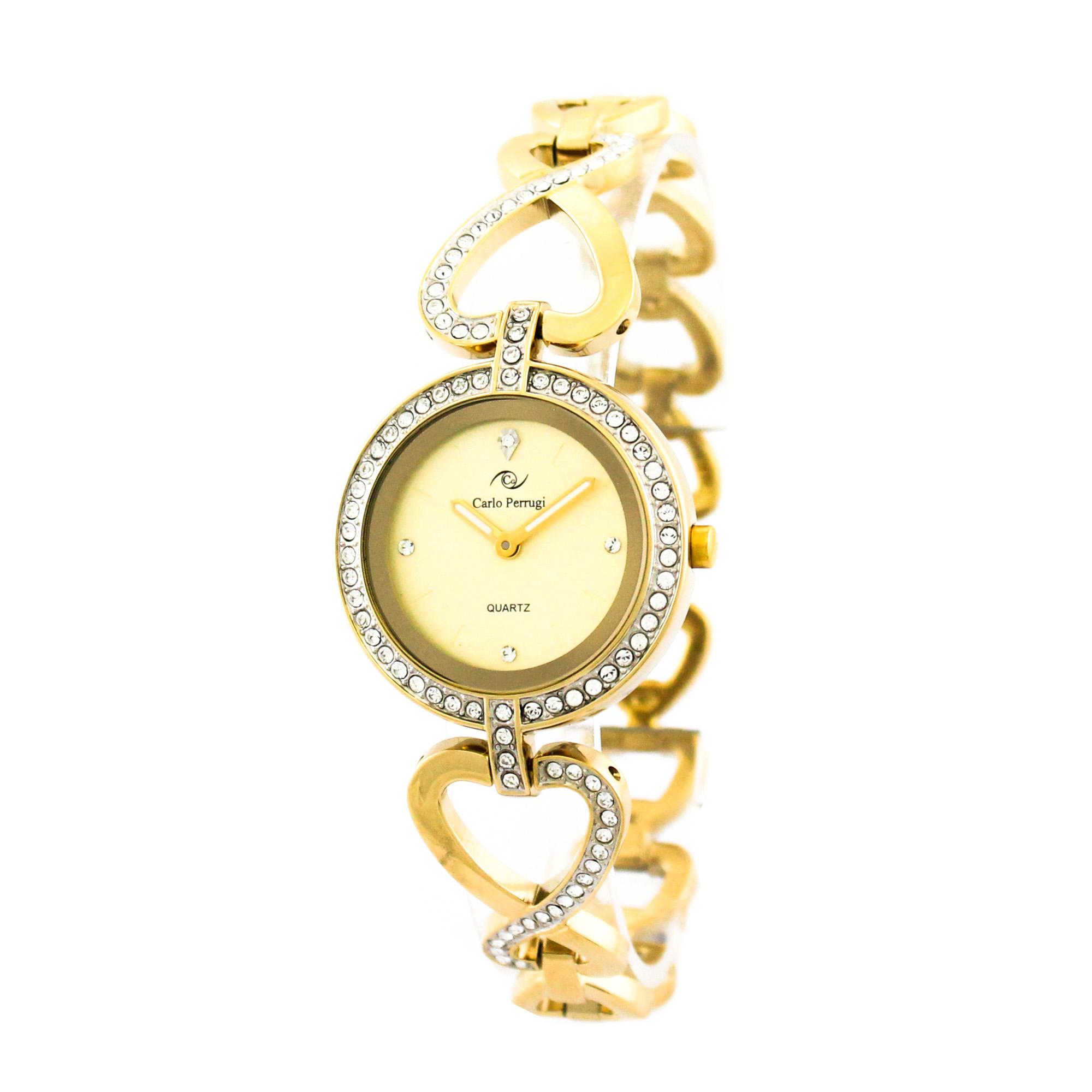ساعت مچی عقربه ای زنانه کارلو پروجی مدل SL002000-2
