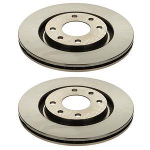 دیسک چرخ جلو کد 01 مناسب برای پژو 405 بسته 2 عددی