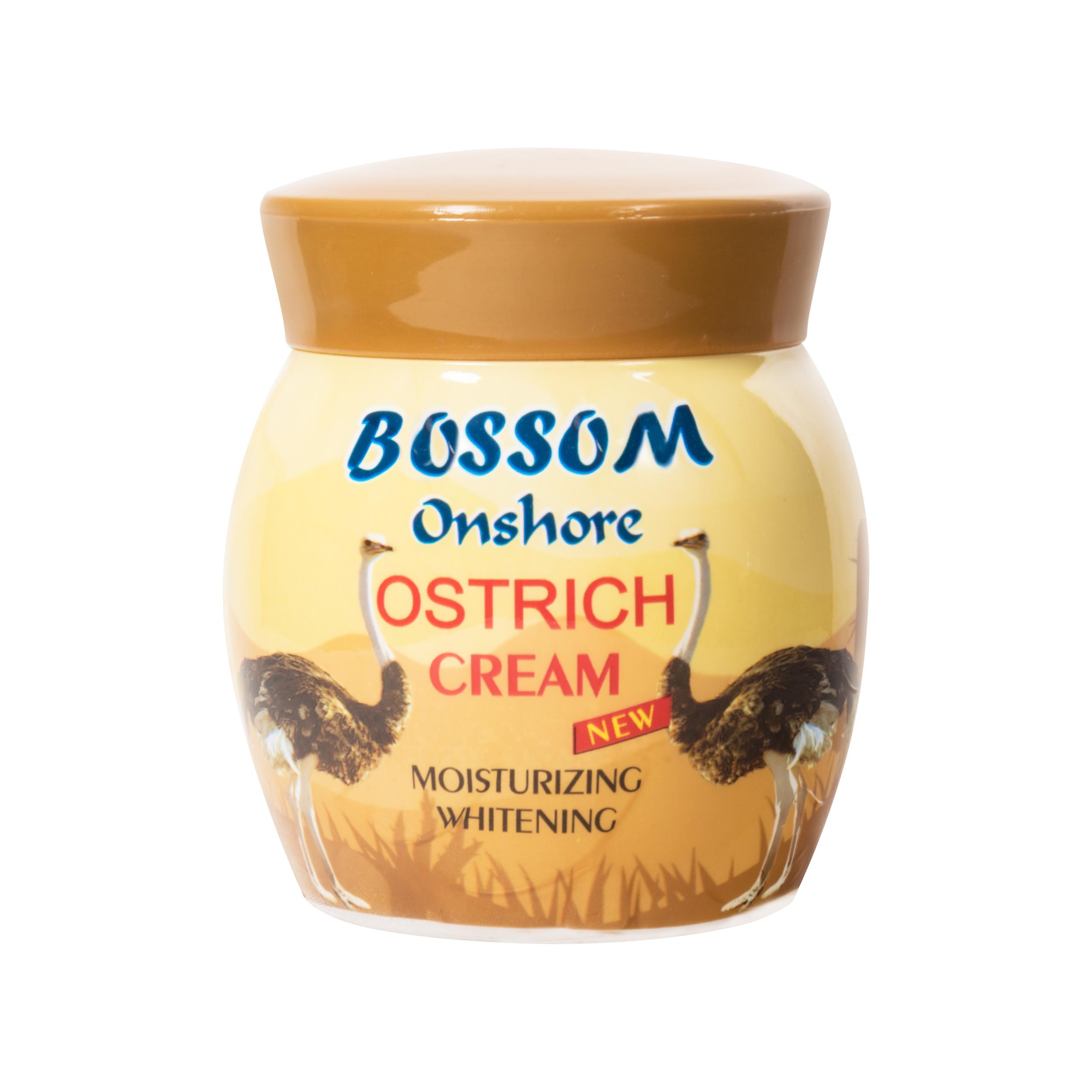 کرم مرطوب کننده انشور بوسوم مدل Ostrich Cream حجم 300 میلی لیتر