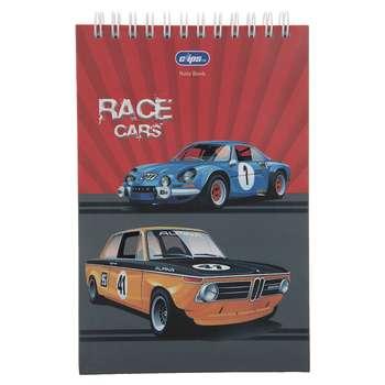 دفترچه یادداشت کلیپس طرح Cars کد 300247