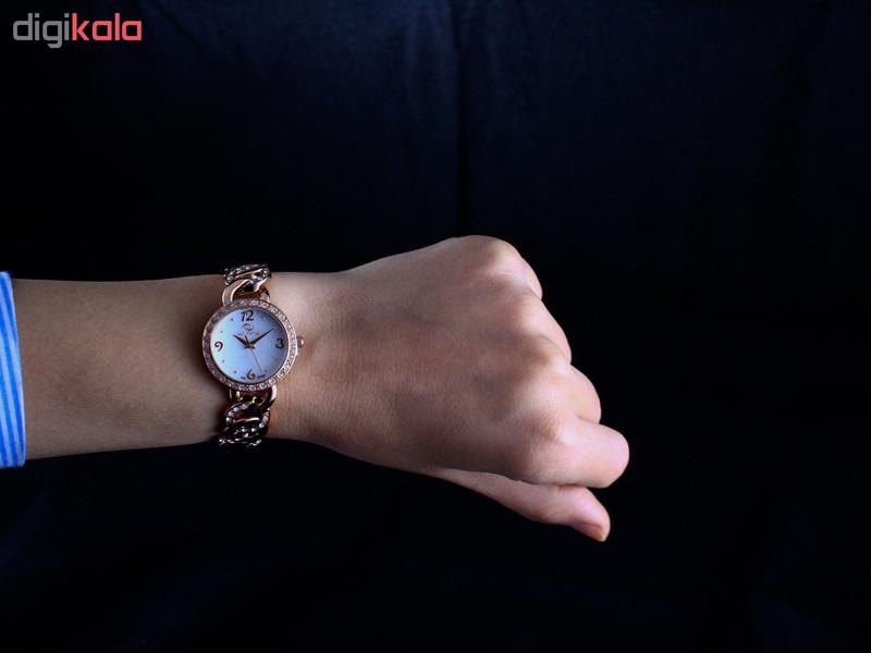 ساعت مچی عقربه ای زنانه کارلو پروجی مدل SL0042-1