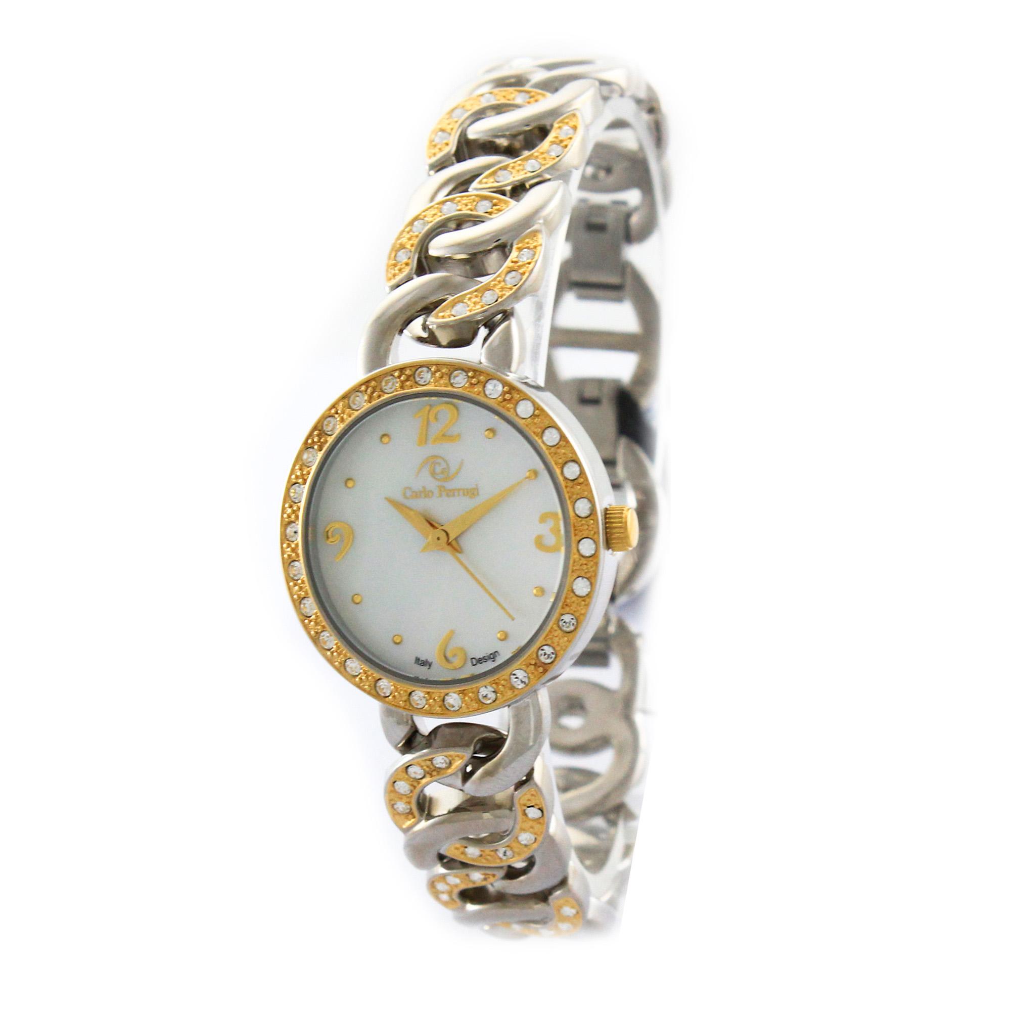 ساعت مچی عقربه ای زنانه کارلو پروجی مدل SL0042-3
