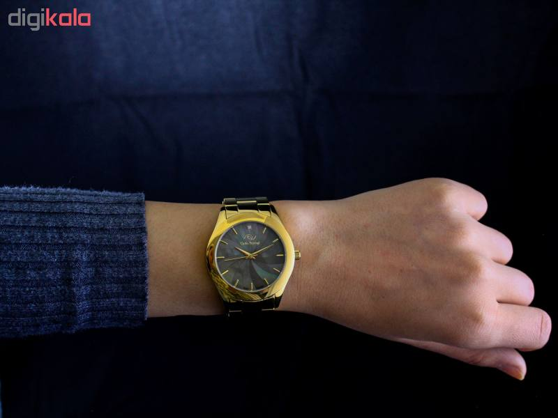 ساعت مچی عقربه ای زنانه کارلو پروجی مدل SL0044-5