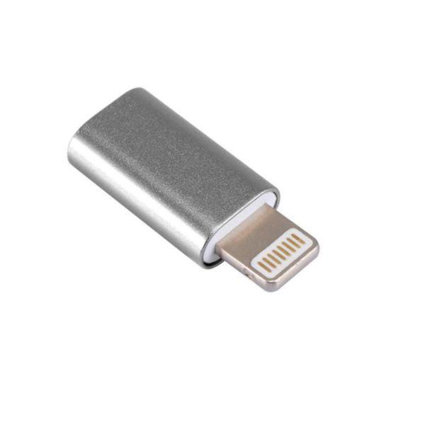 مبدل micro USB به لایتنینگ مدل SH8