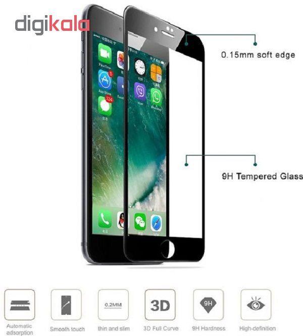 محافظ صفحه نمایش گلس مدل Soft PRO مناسب برای گوشی موبایل اپل آیفون 6/7/8 main 1 2