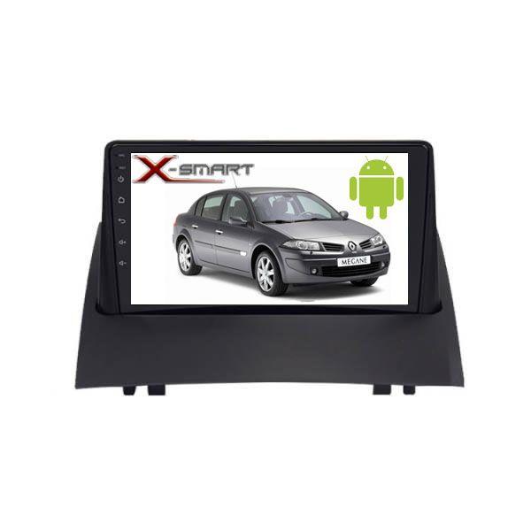 پخش کننده تصویری خودرو ایکس اسمارت مدل MGN مناسب برای مگان